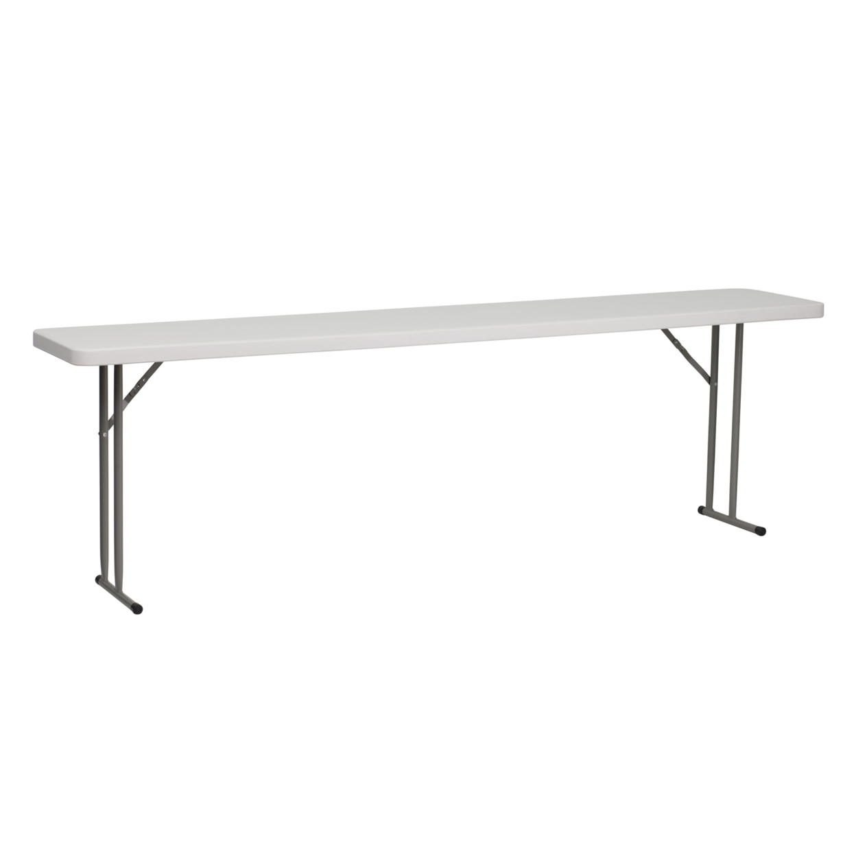 Flash Furniture 18''W x 96''L Granite White Plastic Folding Training Table [863-RB-1896-GG] гирлянда snowhouse сосульки rb oic100lse w ti4 white