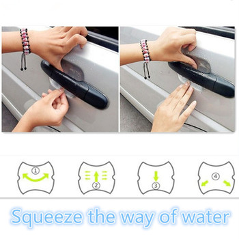 Car handle stick, handle protection film For BMW E46 E52 E53 E60 E90 E91 E92 E93 F30 F20 F10 F15 F13 M3 M5 M6 Car Accessories image