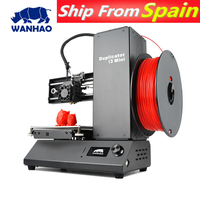 2018 New mini 3d printer WANHAO I3 MINI high precision Desktop home use personal 3D printer prusa I3 Toy printer. Free delivery. image