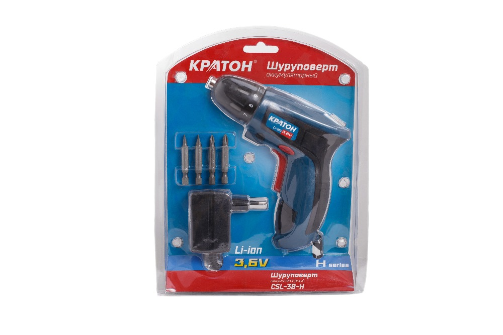 Electric screwdriver KRATON CSL-3B-H электроотвертка кратон csl 3b h