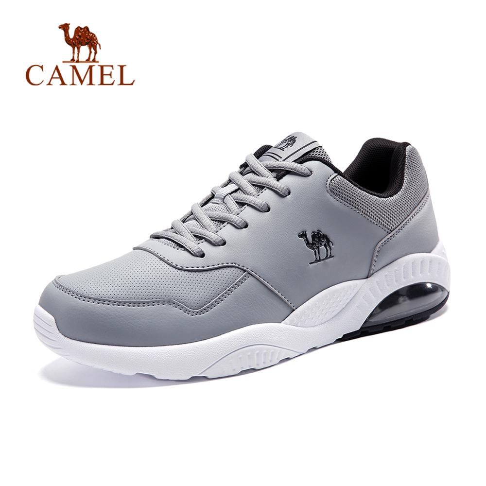 [Sale] CAMEL Men Women Light Running Shoes Soft Casual Warm Outdoor Jogging Walking Sneakers Air Cushion Sports Shoes