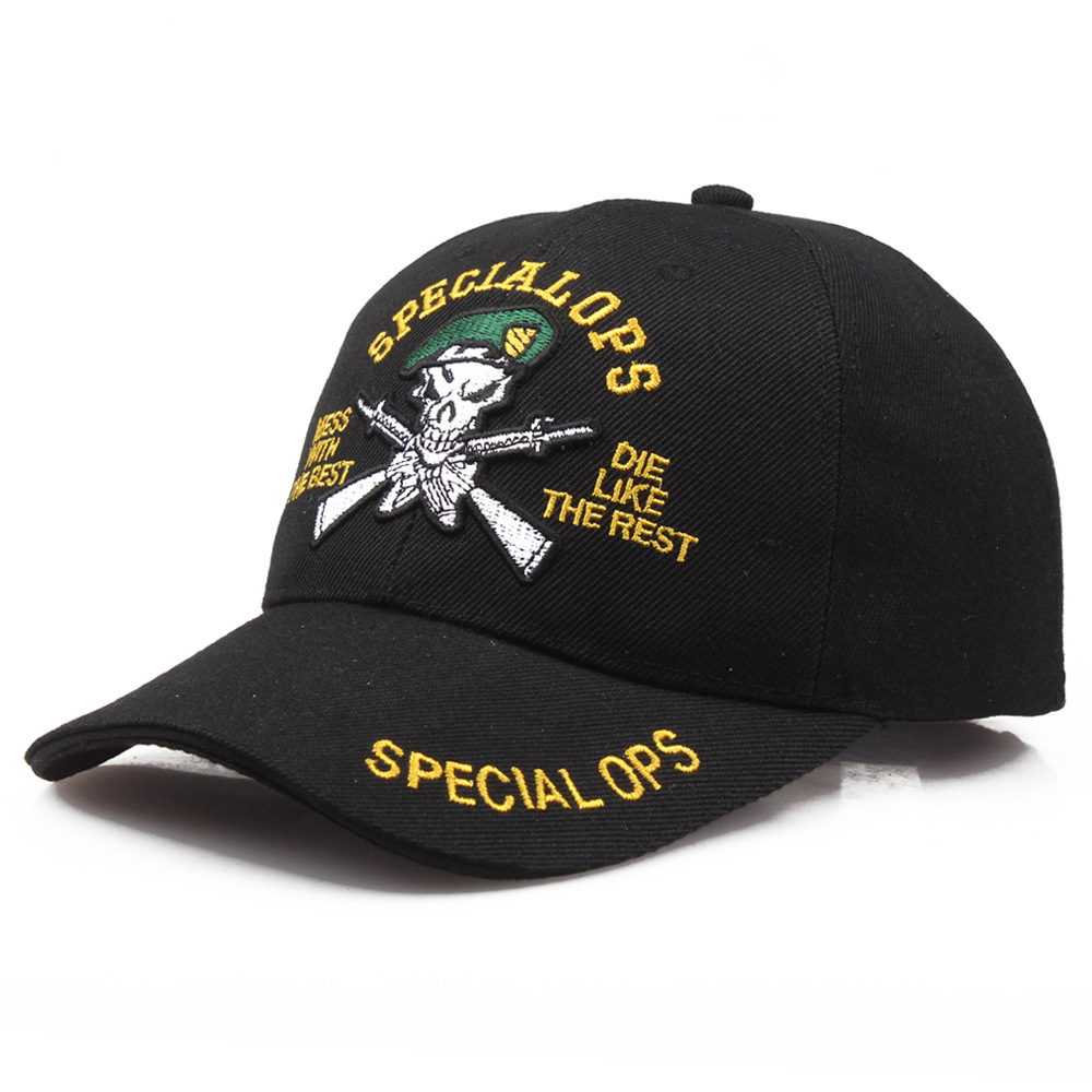 U.s. Special Operations Ops Military Tactical Baseball Hat Cap One Size Adjustable For Hunting Fishing Hiking Outdoor Agreeable To Taste