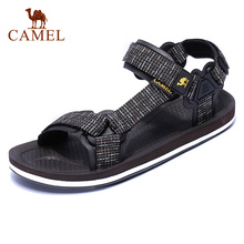 CAMEL New Casual Mens Sandals Summer Outdoor Beach Men Sports Fashion Cool Anti slip Water Resistance Male Flats Couples Shoes