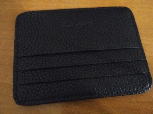 1PC Herenzak Zak Slanke dunne ID creditcard Geldhouder Portemonnee photo review