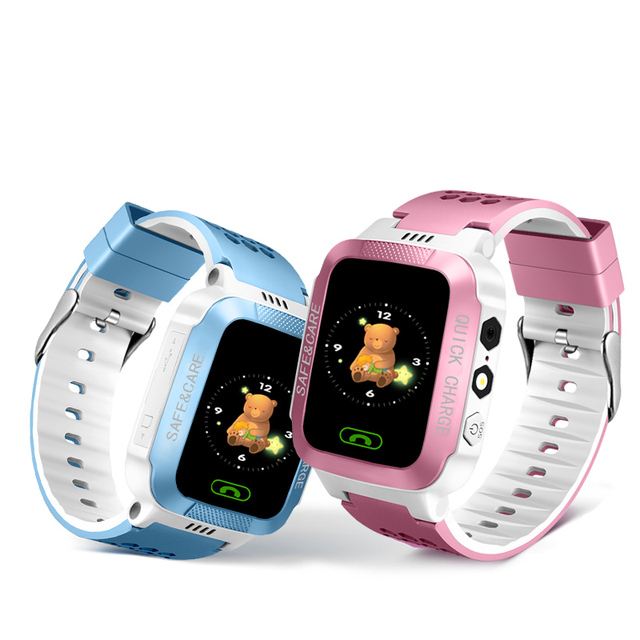 IYURNIXNUHS Touch Screen Smart Watch with Camera Flashligh SOS Call Location Device Tracker for Kid Monitoring YS21S 6