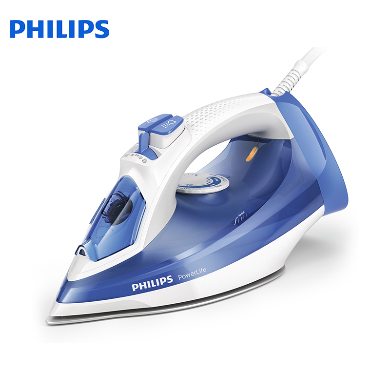 Steam iron Philips GC2990/20 for ironing irons steam iron Household Iron for Clothes GC 2990 electriciron professional 450f ceramic vapor steam hair straightener with argan oil infusion steam flat iron ceramic vapor fast heating iron