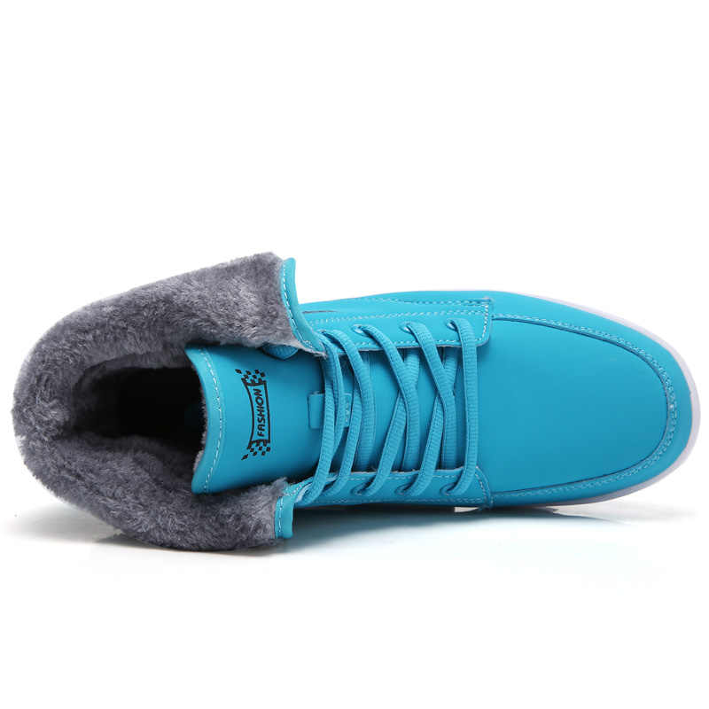 PINSEN Bayan Botları Kürk Kış yarım çizmeler Takozlar Kadın sıcak ayakkabı Moda Kar Botları Yüksek Kaliteli Kürk Ayakkabı Kadın Ayakkabı