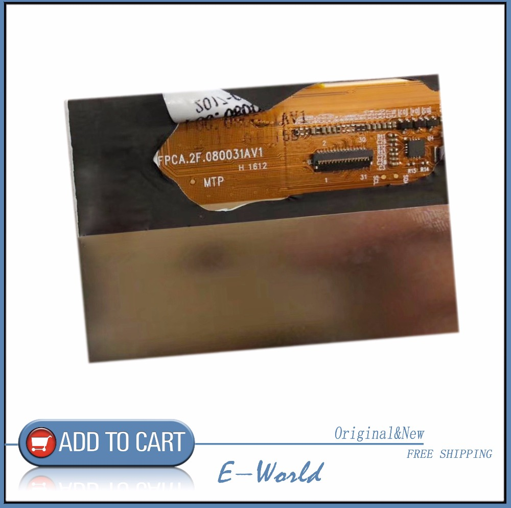 Original 8inch LCD screen FPCA.2F.080031AV1 For X80 Pro Tablet PC display free shipping