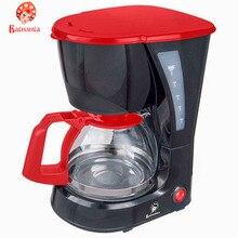 Кофеварка ВАСИЛИСА КВ1-600   черный с красным 600 Вт   600 мл