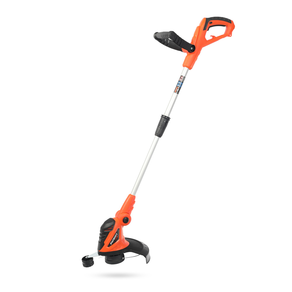 Electric trimmer PATRIOT PT 500 (power 500 W, width 28 cm, sliding handle) цена
