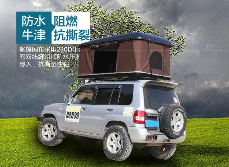 tente de toit universelle a coque rigide pop up pour suv voiture camion voyage de camping