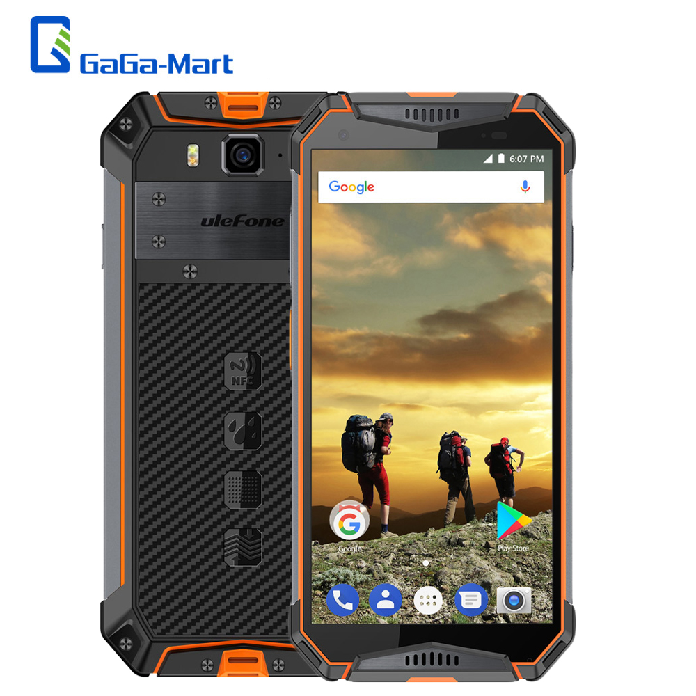Ulefone Armor 3T Rugged Phone IP68 Waterproof 10300mAh Android 8 1 5 7 FHD 4GB 64GB