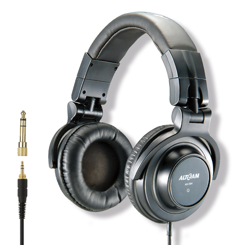 High Quality Dynamic Super Bass Foldable Over Ear Headband Wired Professional Hifi Studio DJ Monitor Stereo Music Headphone gorsun gs a552 wired dynamic stereo bass headset headphone black red