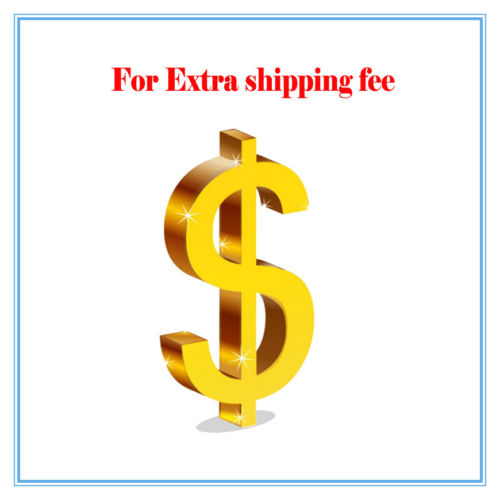 Extra Shipping Cost, Extra fee,Freight charges extra fee cost just for the balance of your order shipping cost