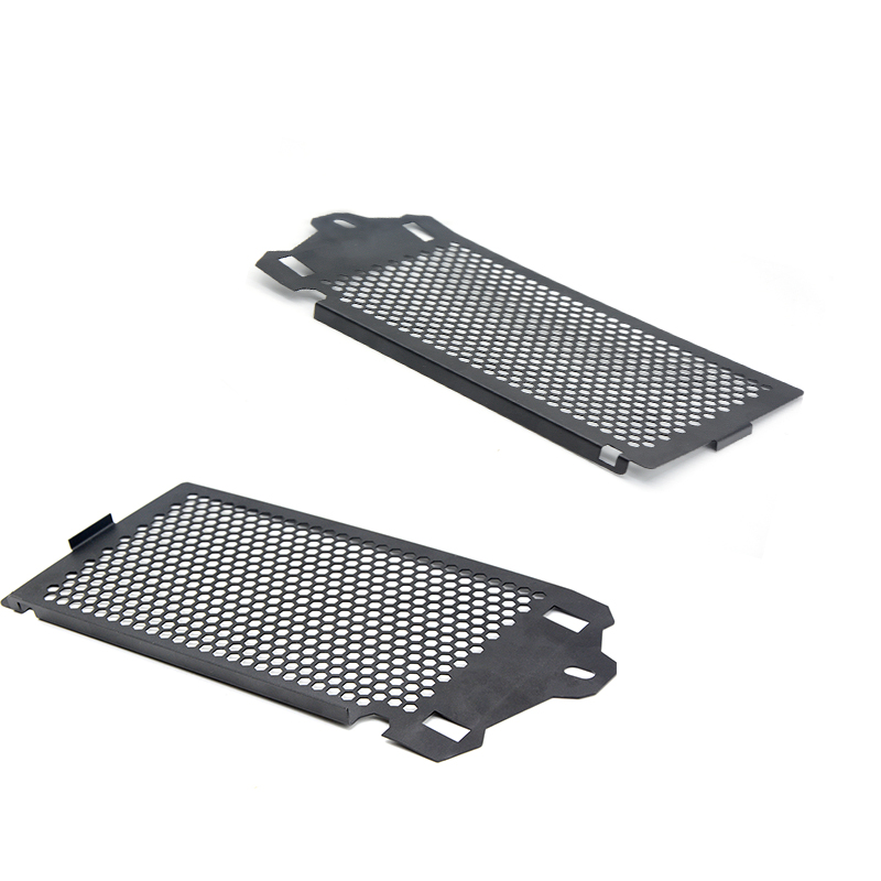 1 Pair Motorcycle Radiator  Grill Guard Cover Protector For  BMW R1200 GS ADV 2013 2014 2015 2016 arashi motorcycle radiator grille protective cover grill guard protector for 2008 2009 2010 2011 honda cbr1000rr cbr 1000 rr