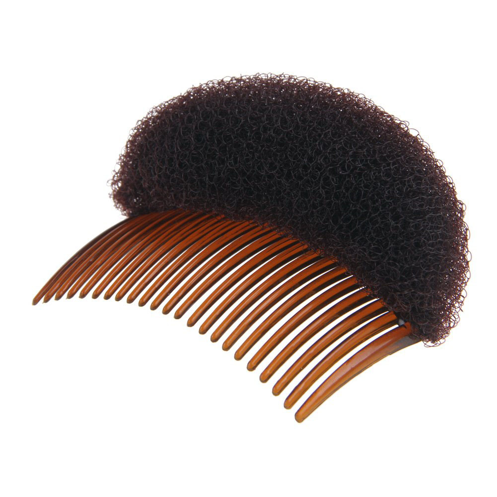 us $0.56 22% off|comb hair brush pro hair puff paste heightening princess hairstyle device hair hase accessories heighten sponge hair make pad-in