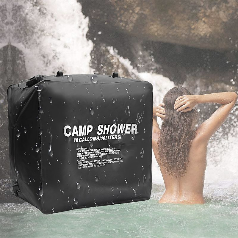 High Quality 40L 10 Outdoor Shower Water Bag Portable Shower