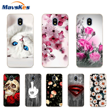 Case For Coque Samsung Galaxy J5 2017 Soft Silicone Back Cases Cover J530 J 530 TPU Case For Funda Samsung Galaxy J5 2017 все цены