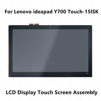 15.6 IPS LCD Display Touch Screen Digitizer Assembly For Lenovo Ideapad Y700 15ISK 80NW LQ156D1JX03 E 4K UHD LTN156HL09 401 FHD