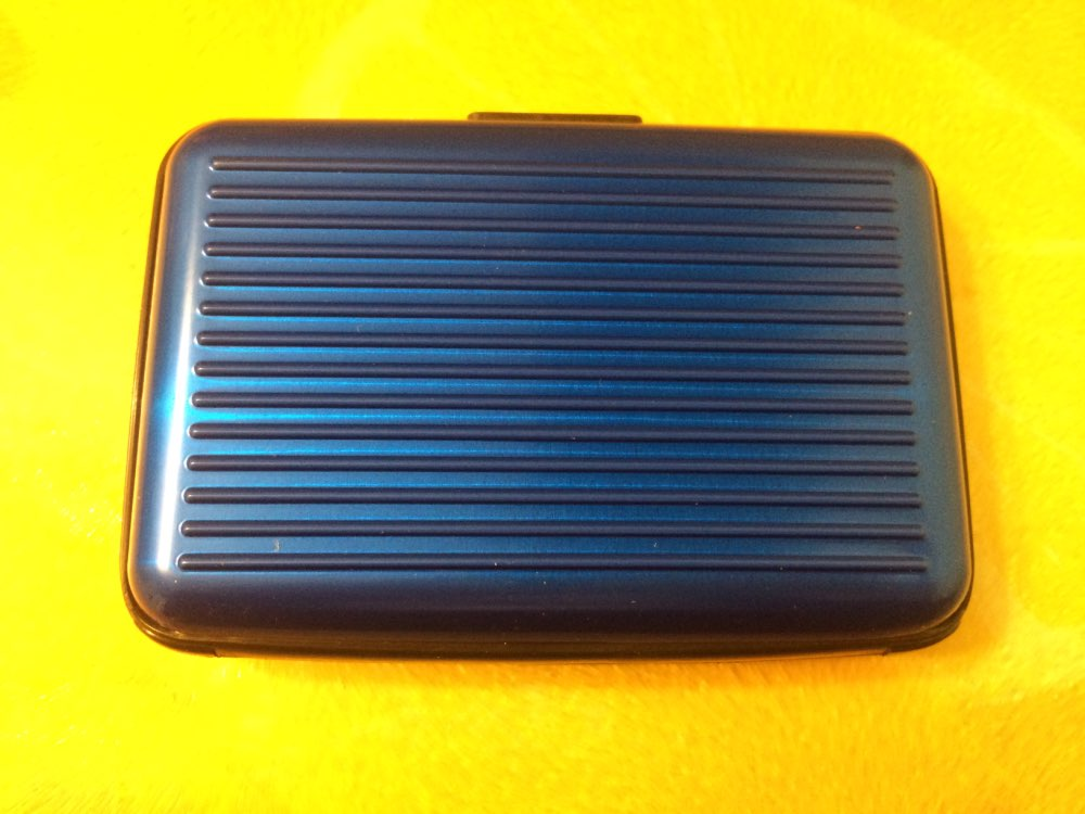 BONAMIE RFID Bank ID Anti-Magnetic Packs Card Holder Aluminum + Plastic Large Capacity Card Case Sets Wallet Business Card Bag photo review