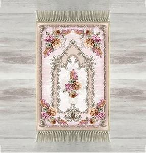 Image 1 - Else Yellow Pink Roses Flowers Rose 3d Turkish Islamic Muslim Prayer Rugs Tasseled Anti Slip Modern Prayer Mat Ramadan Eid Gifts