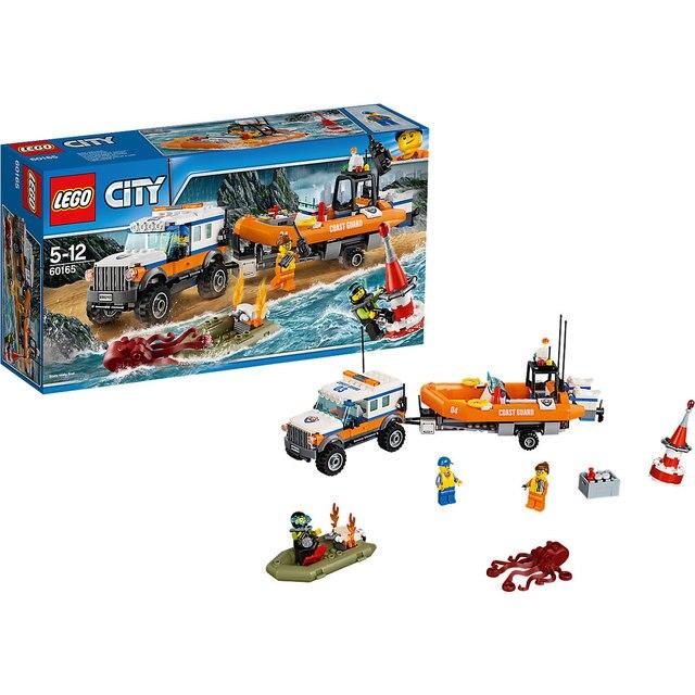 Констркутор LEGO City 60165: Внедорожник 4х4 команды быстрого реагирования