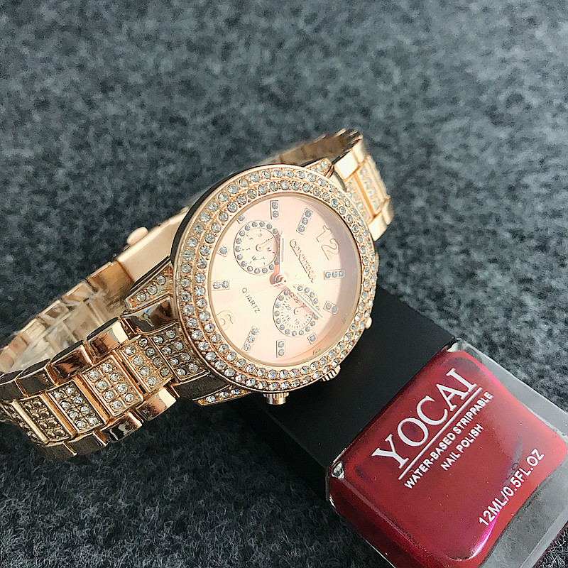 Diamond Bezel Смотреть Watch Luxury Brand - Әйелдер сағаттары - фото 5