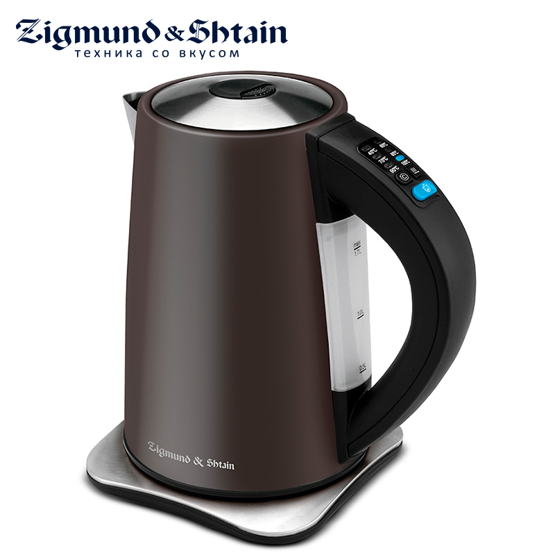 Zigmund & Shtain KE-82 SD Electric Kettle 2200W 1.7L Water level scale Auto shut-off when boiling Cover opening button hsp rc car optional spare parts of 1 10 scale electric off road buggy