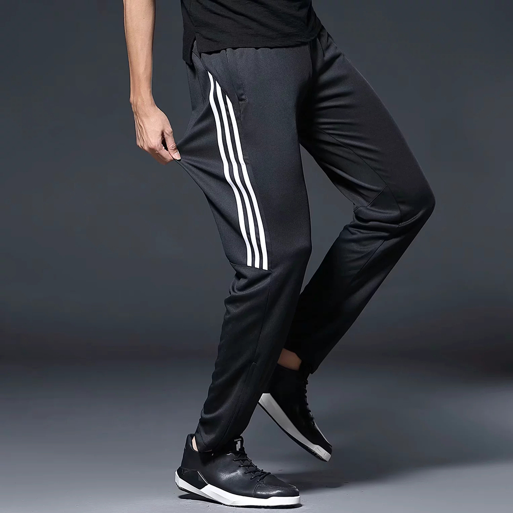 Men/'s Soccer Football Athletic Training Sports Gym Track Pants Trousers S,M,L,XL