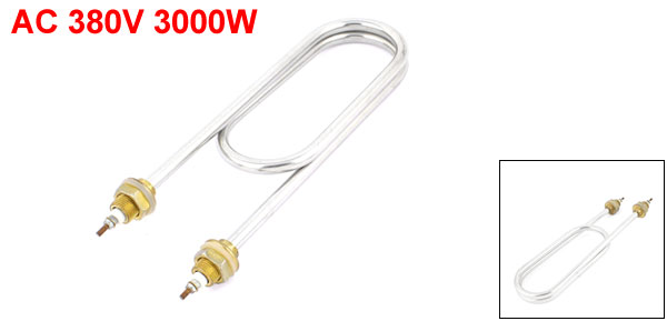 Uxcell Ac 220V 2000W Home Shower Heating Electric Parts Density Water Heater Element .  0  2000w  2kw  3000w  3kw  4000w
