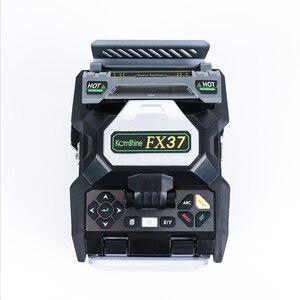 Image 3 - Komshine FX37 الأساسية إلى الأساسية محاذاة المحمولة الألياف البصرية الانصهار جهاز الربط مع 7S الربط السريع و 0.02 انخفاض فقدان الربط
