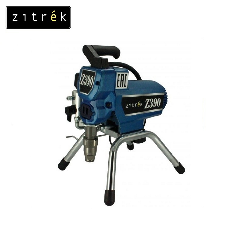 Painting device Zitrek Z390 Painting at the construction site Facades Impregnation on wood Metal painting Applying soil sketchbook soil painting 16k 110g 40