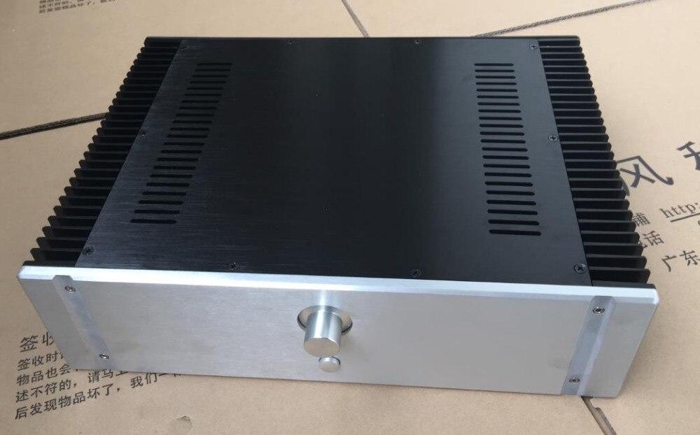 BZ4312E класс A аудио усилитель шасси все алюминиевые корпуса 430 широкий X120 высокий X311 глубокий DIY корпус коробка