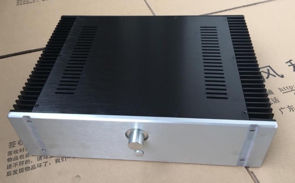 BZ4312E classe A amplificateur Audio châssis tout en aluminium boîtier 430 large X120 haut X311 boîtier de bricolage profond