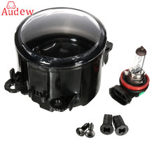 1Pcs 18W  H11 Halo Ring Fog Light Bulb + Fog Headlight Assembly For Acura/Honda/Ford/Nissan/Subaru