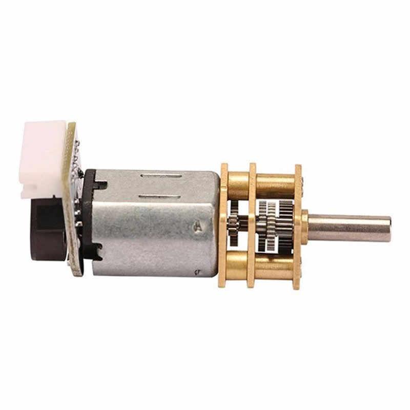 מקודד מנוע N20 DC6V 180 RPM מפחית Gear מנוע DC Gear Motor