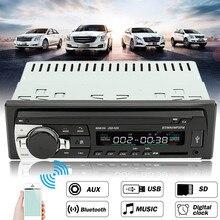 24 В автомобиля Радио Bluetooth Авто Аудиомагнитолы автомобильные стерео проигрыватель Поддержка телефон AUX-IN MP3 FM USB 1 DIN Дистанционное управление в тире
