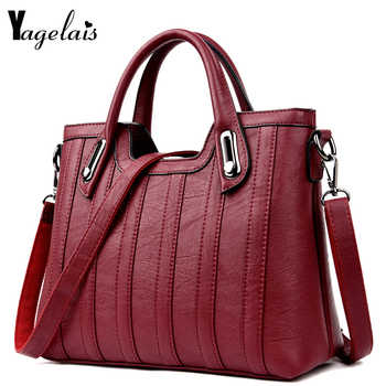 2019 New European and American Style Women Totes Leather Ladies Clutch Single Shoulder Bags Crossbody Bags Soft Fashion Handbags - DISCOUNT ITEM  50% OFF All Category