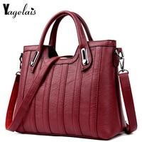 European and American Style Women Clutch Leather Flap Ladies Single Shoulder Bags Crossbody Bags Soft Fashion Womens Handbags
