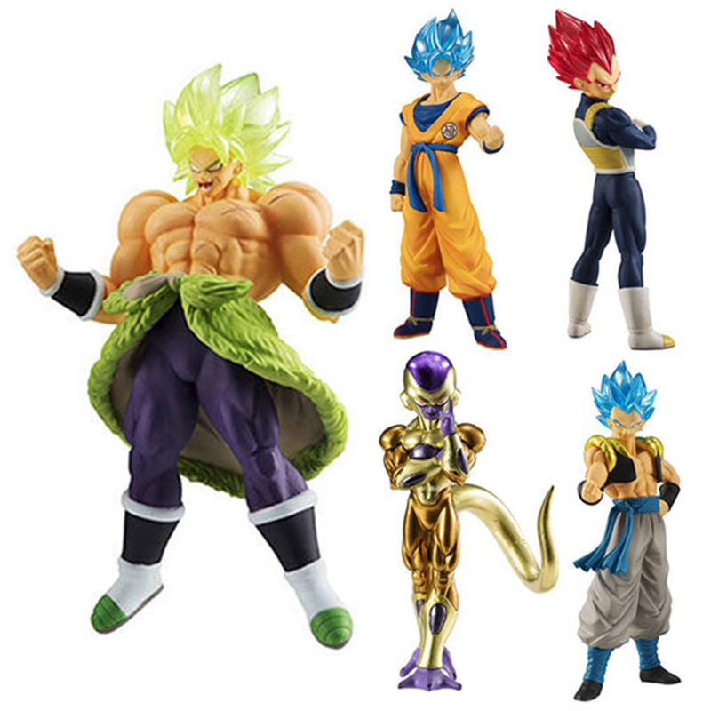 Dragon Ball Super HG ULTIMATE SOLDIERS Goku Broly Gogeta Vegeta Frieza Gashapon PVC Figures Model Figurals Dolls