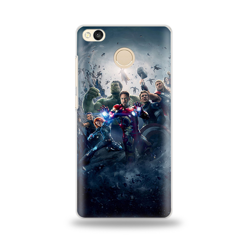 Case For Xiaomi Redmi 4X Marvel Avengers Infinity War 3 Redmi Note Phone Case For Xiaomi Redmi Note 2 3 4 4X 5A 5 Pro