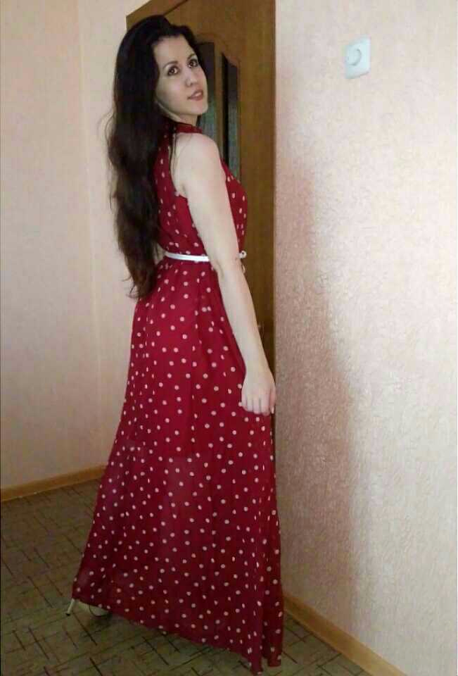 Теребит платье
