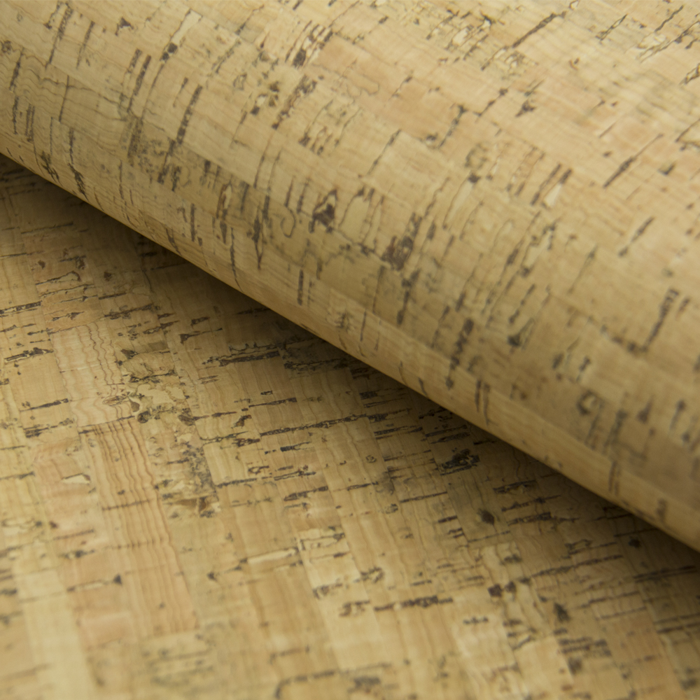 цена на PORTUGAL cork fabric Natural Cork Rustic fabric Cork leather Vegan waterproof Abrasion resistance fabric COF-181
