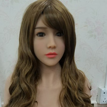 #37 good looking sex doll head for big size sexy dolls 135cm/140cm/148cm/153cm/152cm/155cm/158cm/163cm/165cm/170cm