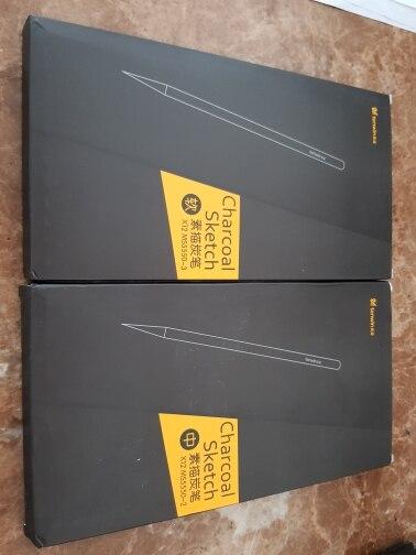 Charcoal Pencil Set - 12PCs photo review