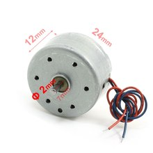 UXCELL 2Pcs Rc300-Ft-08800 6000Rpm  1.5-9V Micro Motor For Cd Player