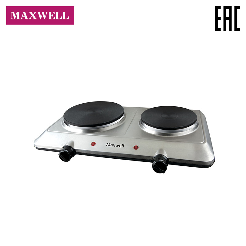 Electric plate Maxwell MW-1906 panel cooking for home for garden hot plate 380lm warm white light bulb aluminum plate for flashlight