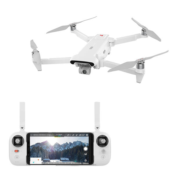 FIMI X8 SE Drone con cámara x8se RC drone helicóptero 5KM FPV 3 ejes cardán 4K Cámara GPS 33 minutos de tiempo de vuelo RC Drone Quadcopter RTF