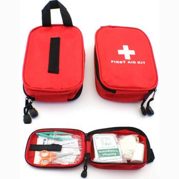 CHIZIYO Travel Camping awaryjne przetrwanie Mini samochód rodzinny apteczka wielowarstwowa 120 sztuk paczka tanie i dobre opinie Holowania liny Baterii Jazdy Firewire Skrzynka narzędziowa Torba 0 15kg Outdoor first aid kit 17 x 14 x 4 5 cm A464