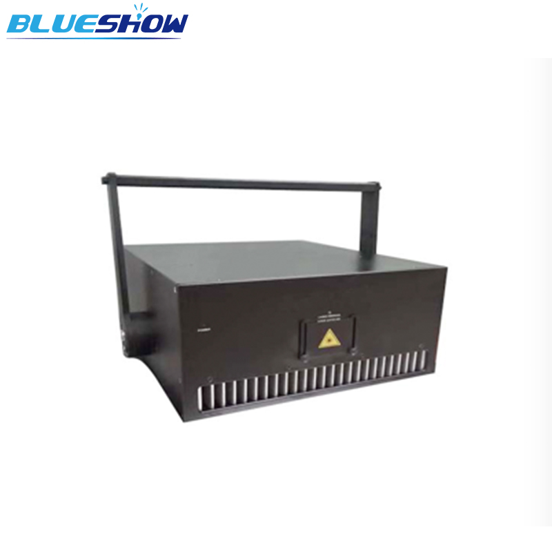 Big Power Laser 30W RGB Animation Show Light Professional  ILDA Stage 638nm Full Color Laser Performance Analog 40kpps FB4